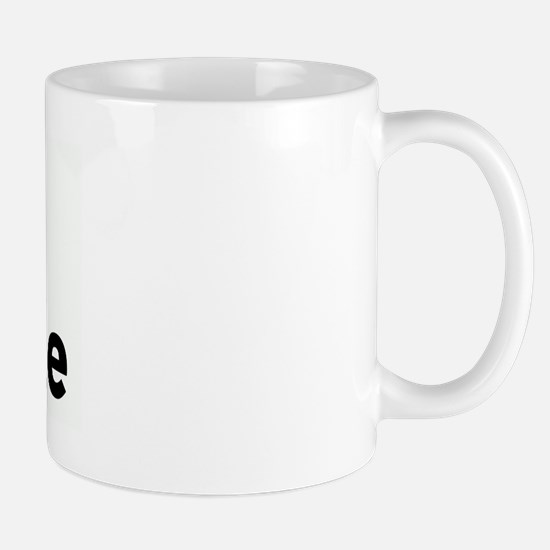 I Love Ash Hole Mug