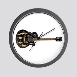 TUNA TUNES Wall Clock