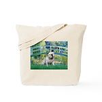 Bridge / English Bulldog (#9) Tote Bag