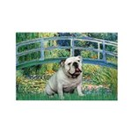 Bridge / English Bulldog (#9) Rectangle Magnet (10