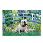 Bridge / English Bulldog (#9) Postcards (Package o