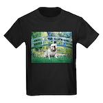 Bridge / English Bulldog (#9) Kids Dark T-Shirt