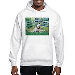 Bridge / English Bulldog (#9) Hooded Sweatshirt