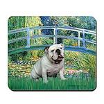 Bridge / English Bulldog (#9) Mousepad