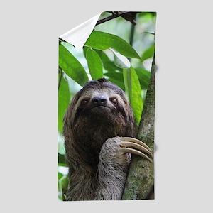 Sloth_20171101_by_JAMFoto Beach Towel