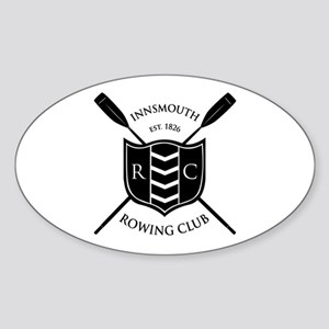 Innsmouth Rowing Club Oval Sticker