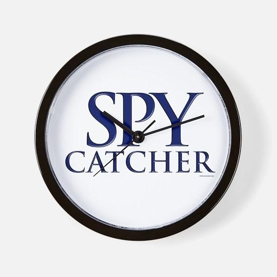 Spy Catcher Wall Clock