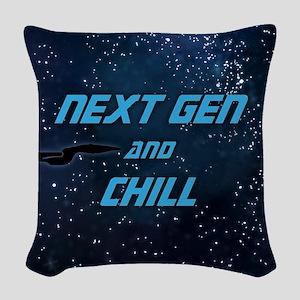 Next Gen And Chill Woven Throw Pillow