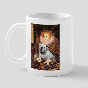 The Queen's English BUlldog Mug