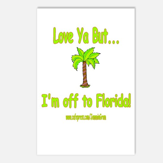 LYB FLORIDA Postcards (Package of 8)