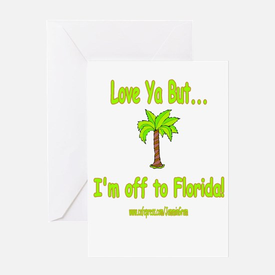 LYB FLORIDA Greeting Card