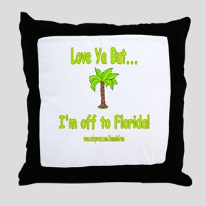 LYB FLORIDA Throw Pillow