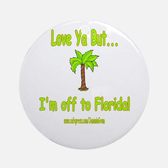LYB FLORIDA Ornament (Round)