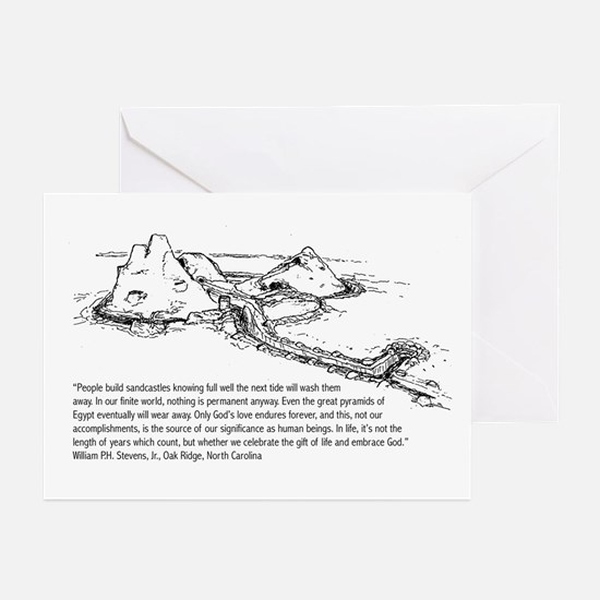 Sandcastle Greeting Cards (Pk of 20)