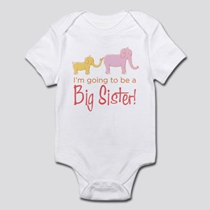 I'm Going To Be a Big Sister! Infant Bodysuit