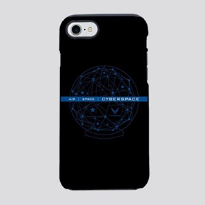 USAF Air Space Cyberspace iPhone 8/7 Tough Case