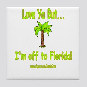 LYB FLORIDA Tile Coaster
