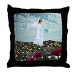 March Angel : Throw Pillow