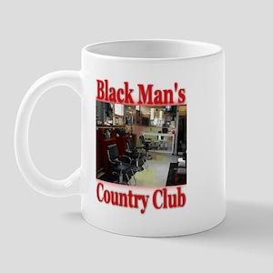 Black Man Country Club Mug