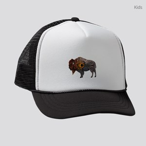 BISON TUNED Kids Trucker hat