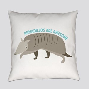 Armadillo_Armadillos_Are_Awesome Everyday Pillow