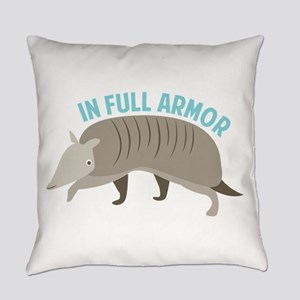 Armadillo_In_Full_Armor Everyday Pillow
