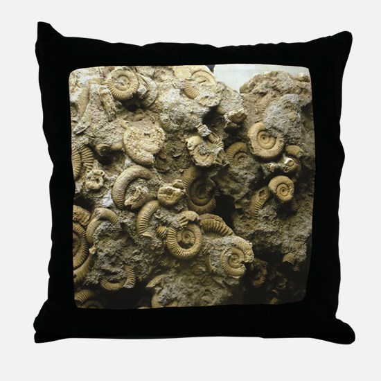 Unique Fossil Throw Pillow