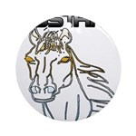 mustang horse Round Ornament