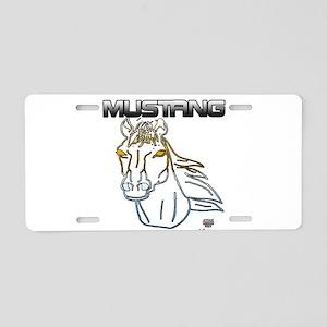 mustang horse Aluminum License Plate