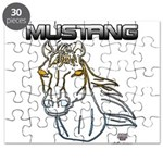 mustang horse Puzzle