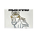 mustang horse Magnets