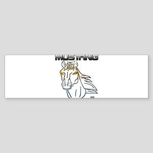 mustang horse Bumper Sticker