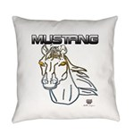 mustang horse Everyday Pillow