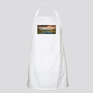 scenic lake of wonder Light Apron