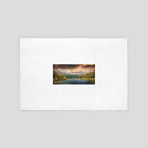 scenic lake of wonder 4' x 6' Rug