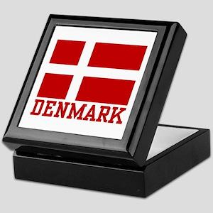Flag of Denmark Keepsake Box