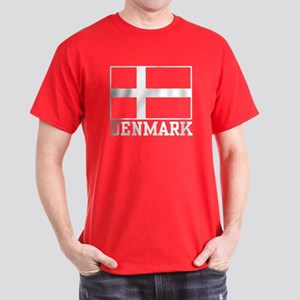 Flag of Denmark Dark T-Shirt