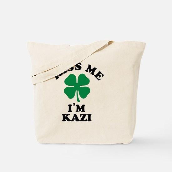 Funny Kiss me Tote Bag