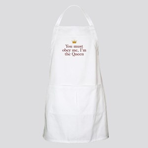 You Must Obey Me BBQ Apron