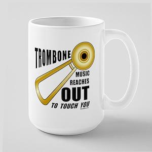 Trombone Touch Large Mug
