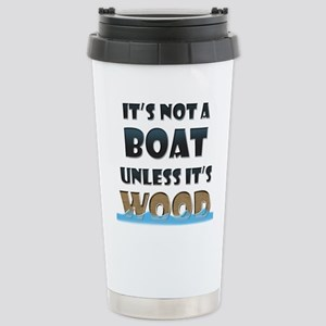 Its not a boat unless its wood Mugs