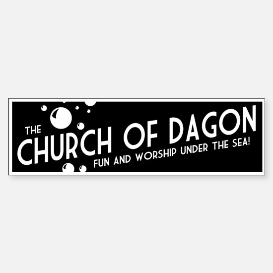Church of Dagon Bumper Bumper Bumper Sticker