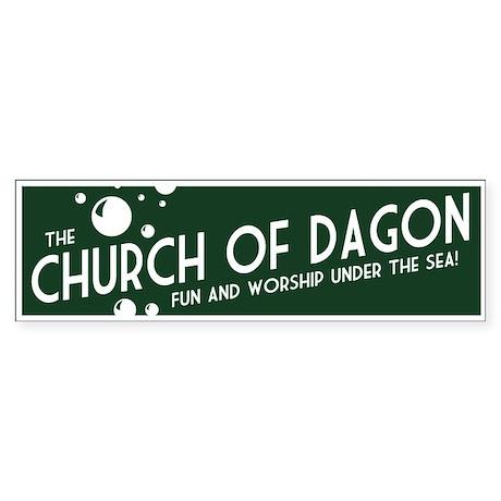 Church of Dagon Bumper Sticker