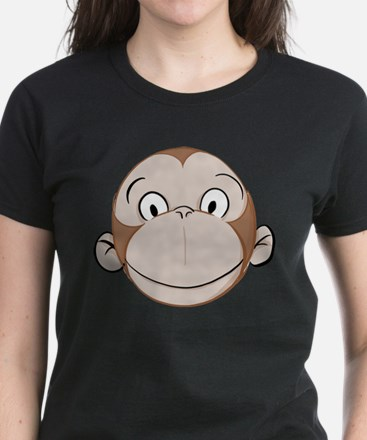 Monkey Women's Dark T-Shirt