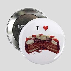 """I Love Cake"" Button"