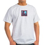 White Bird Appaloosa Horse Re Ash Grey T-Shirt