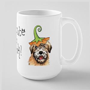 Halloween Wheaten Large Mug
