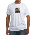 White Bird Appaloosa Horse Re Fitted T-Shirt