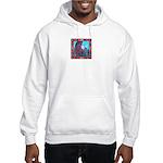 White Bird Appaloosa Horse Re Hooded Sweatshirt