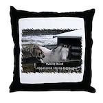 White Bird Appaloosa Horse Re Throw Pillow